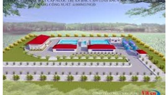 Hệ thống cấp nước sạch công suất 10.000m3/ngđ tại KCN Yên Phong – Bắc Ninh