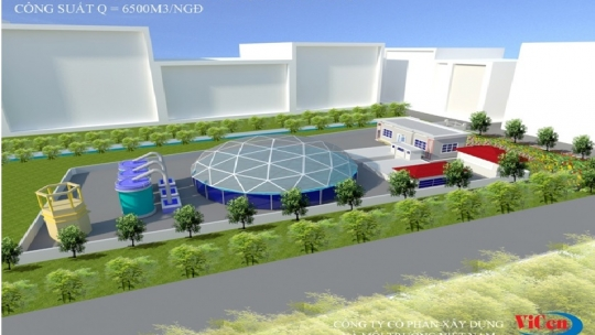 Xây dựng và lắp đặt thiết bị trạm cấp nước Thụy Khuê thuộc công trình Cải tạo và phục hồi trạm cấp nước Thụy Khuê
