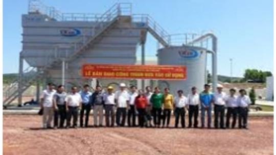Cung cấp và lắp đặt thiết bị công nghệ xử lý nước dự án Đầu tư xây dựng NMN Kim Tinh